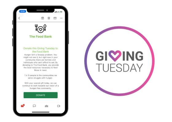Giving Tuesday Free Email