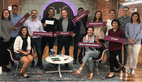 X4Impact team with Microsoft Corp 2019