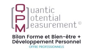 Bilan QPM offre spécial 2 bilans pour les professionnels