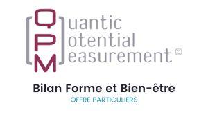 Bilan QPM Forme et Bien-être pour les particuliers