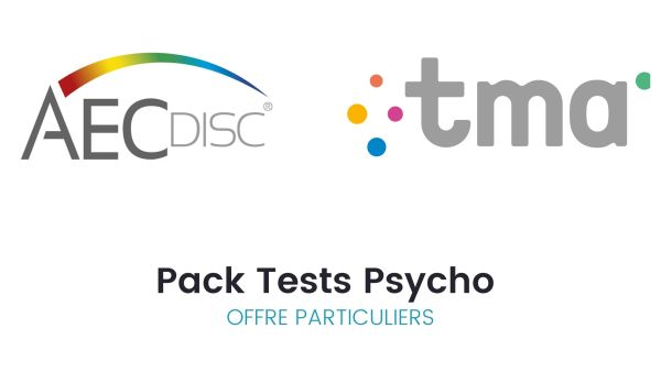 Pack Tests psycho AEC Disc© + TMA