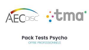 Pack Tests psycho AEC Disc© + TMA - Offre pour les professionnels