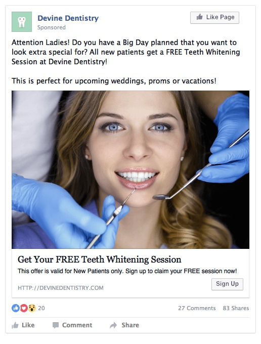 YoYoFuMedia Dental Facebook Ads