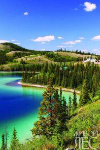 Изумрудное озеро, юконская территория