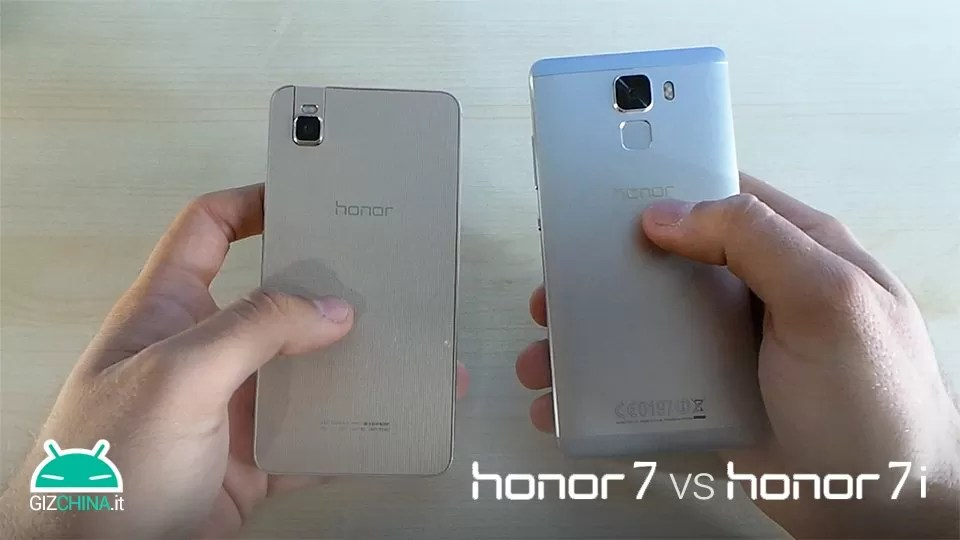 Honor 7 vs Honor 7i