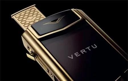 Vertu Signature Touch