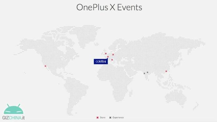 OnePlus X evento Italia
