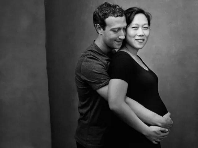 Mark e Priscilla Zuckerberg presto genitori