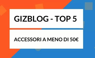Top 5 accessori tecnologici