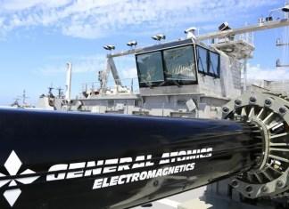 Cannoni magnetici per la US Navy
