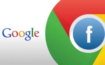 Chrome e Facebook