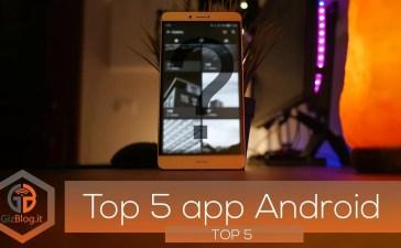 TOP 5 delle migliori applicazioni per android