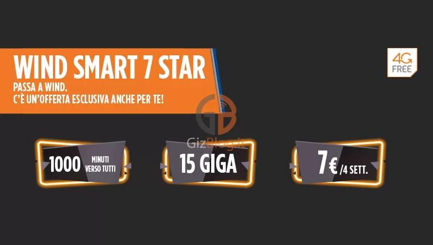 Offerta Wind: Smart 7 Star riproposta! Ecco cosa offre