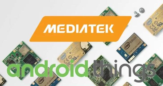 mediatek android things google assistant
