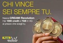 Offerta PosteMobile Creami Revolution