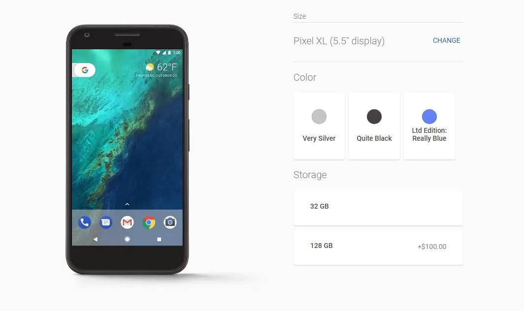 Amazon fornisce nuovi dettagli sul design dei Google Pixel 2