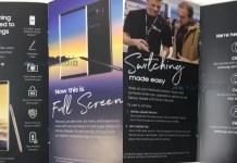 Samsung Galaxy Note 8 immagini caratteristiche