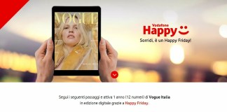 vodafone happy friday vogue banner