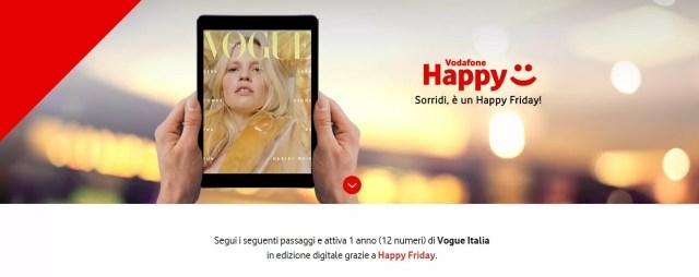 vodafone happy friday vogue banner