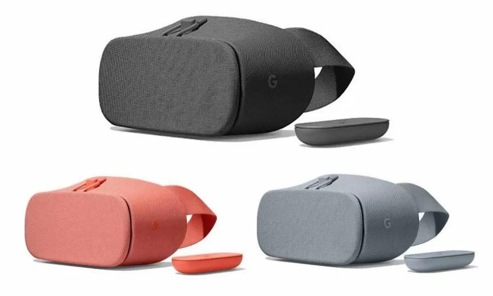 Google: online i nuovi DayDream VR, disponibili in tre colori?