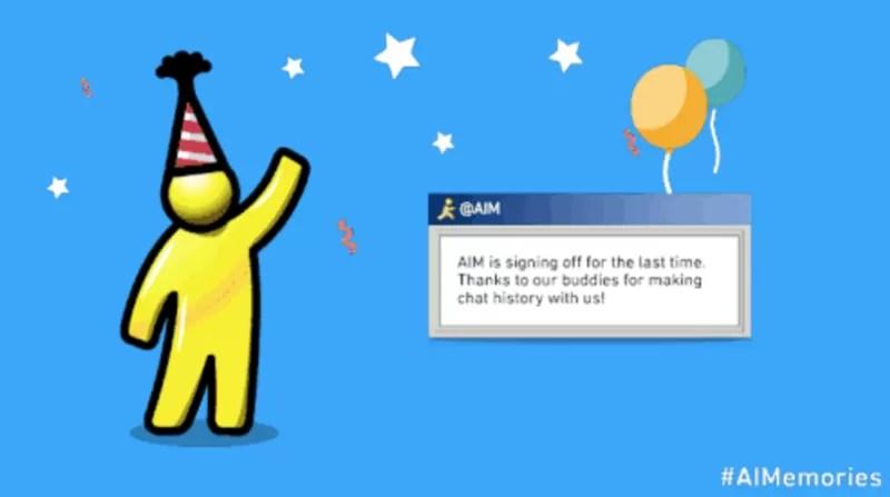 AOL Istant Messenger verrà chiuso il 15 dicembre