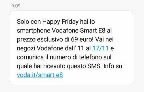 Happy Friday di Vodafone ritorna con un super regalo!