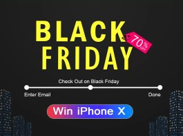black friday, dodocool, iphone x