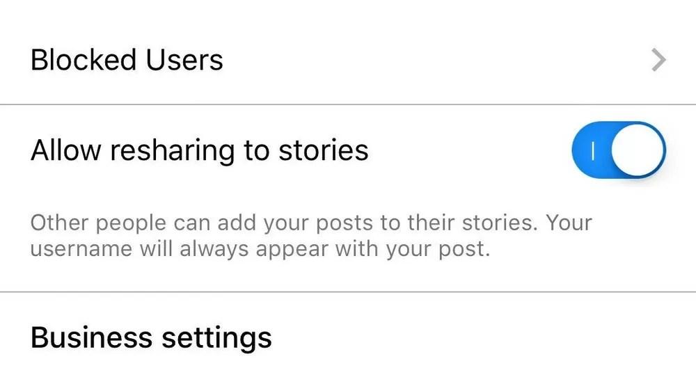 Visibili gli screenshot alle storie — Instagram
