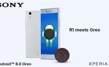 sony xperia r1 aggiornamento android 8.0 oreo
