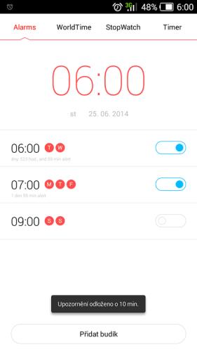 11-aplikace budík