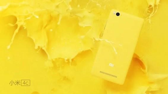 Xiaomi MI 4c žlutá