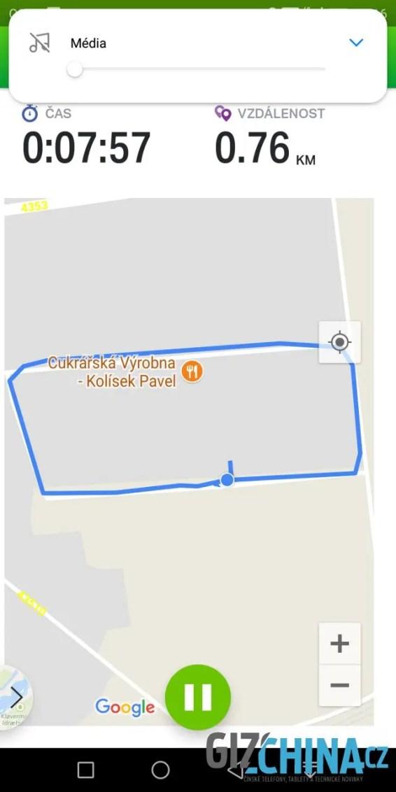 Přesnost GPS není úplně dokonalá...
