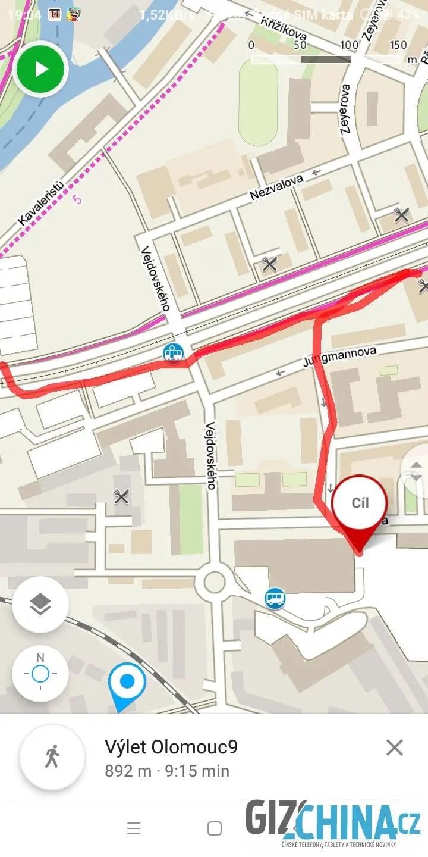 GPS nabízí obstojnou přesnost