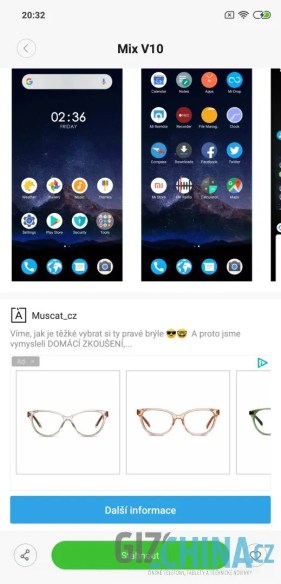 ukázka reklamy v aplikaci 4