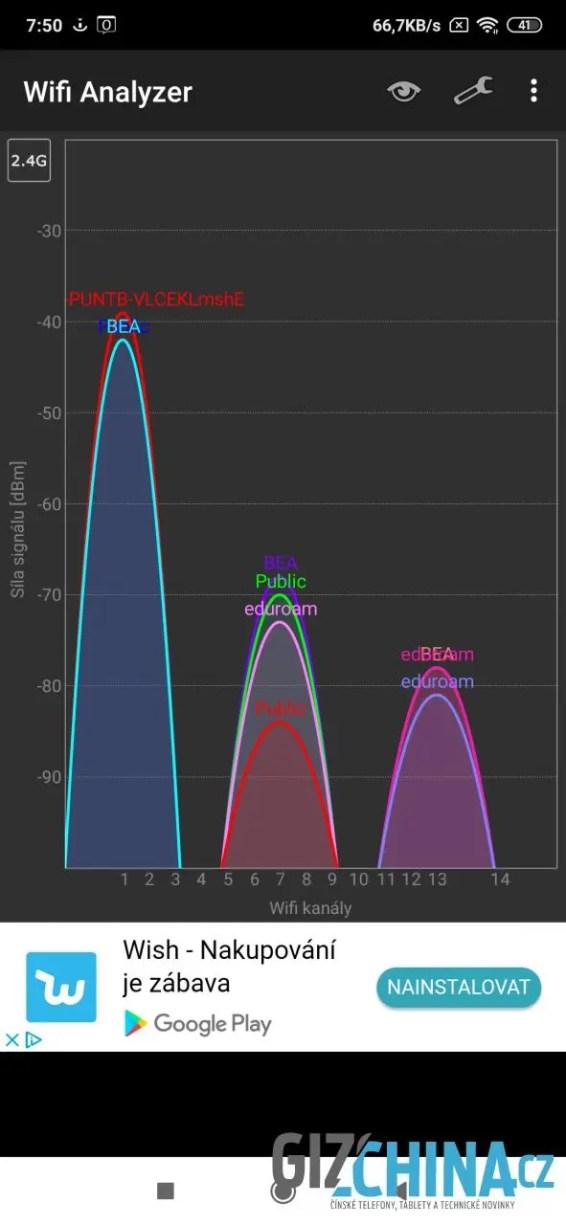Wi-Fi pracuje spolehlivě ...