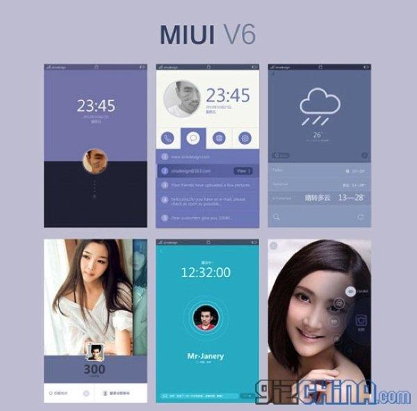 Khái niệm: MIUI V6, thiết kế phẳng và thanh lịch!