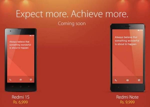 Prijzen van Xiaomi India