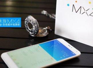 Meizu MX4 bianco