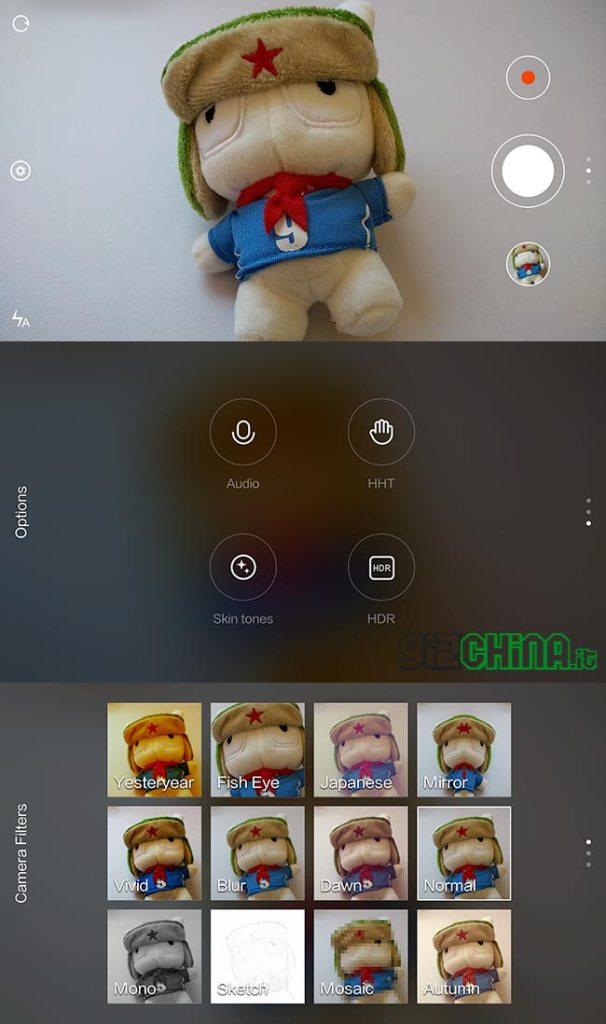 MIUI Camera-app - Xiaomi Mi4