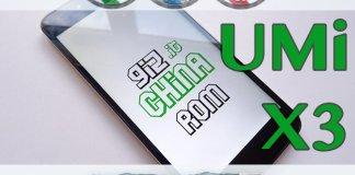 UMi X3 GizChina ROM