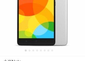 Xiaomi Note