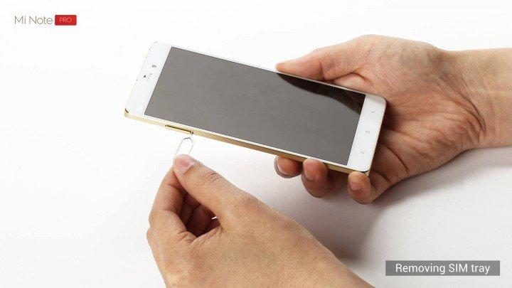 Xiaomi Mi Note Pro 분해
