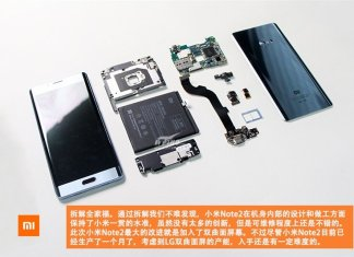 xiaomi mi note 2 teardown
