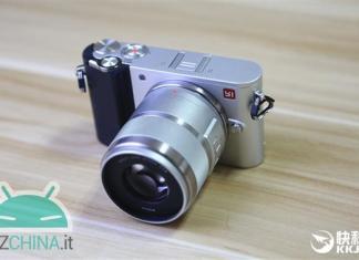 Xiaomi yi m1 hands-on