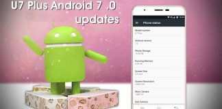 OUKITEL U7 Plus Android 7.0 Nougat