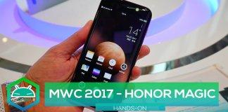 Honor Magic MWC 2017