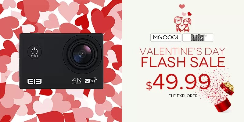 MGCOOL Explorer GearBest San Valentino