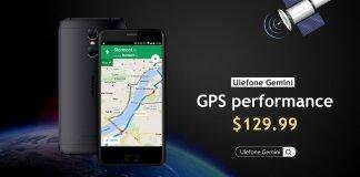 Ulefone Gemini GPS
