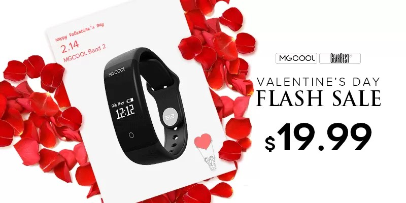 MGCOOL Band 2 GearBest San Valentino