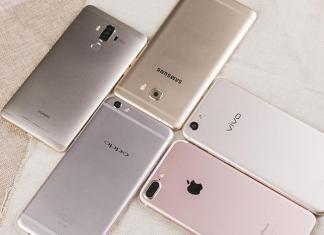 Huawei vs Samsung vs OPPO vs Vivo